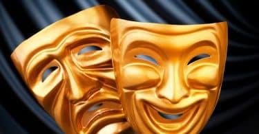 Máscaras de teatro.