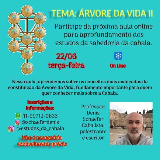 Imagem com as informações do evento.