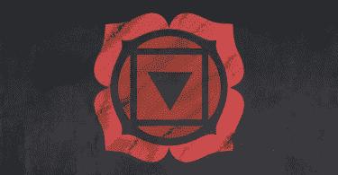 símbolo da Muladhara o Chakra Raiz