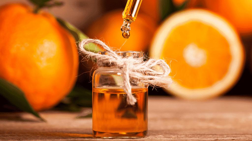 Óleo essencial laranja.