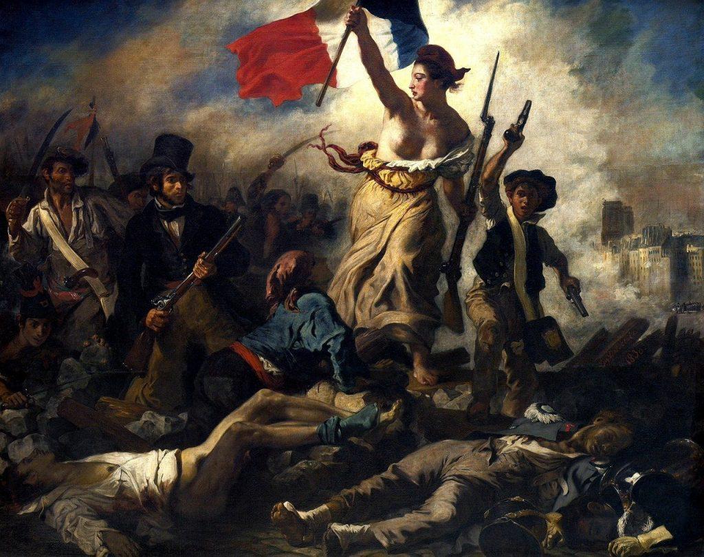 Os limites da Revolução examinados através da obra clássica de Eugène Delacroix