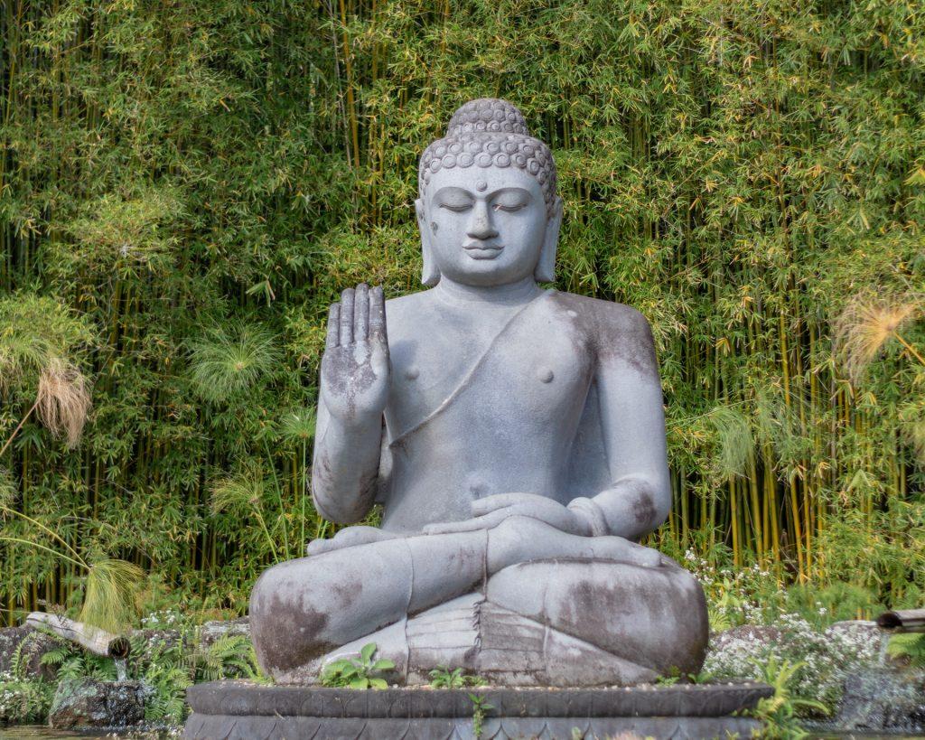 Estátua de Buda.
