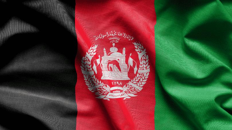 bandeira do afeganistão
