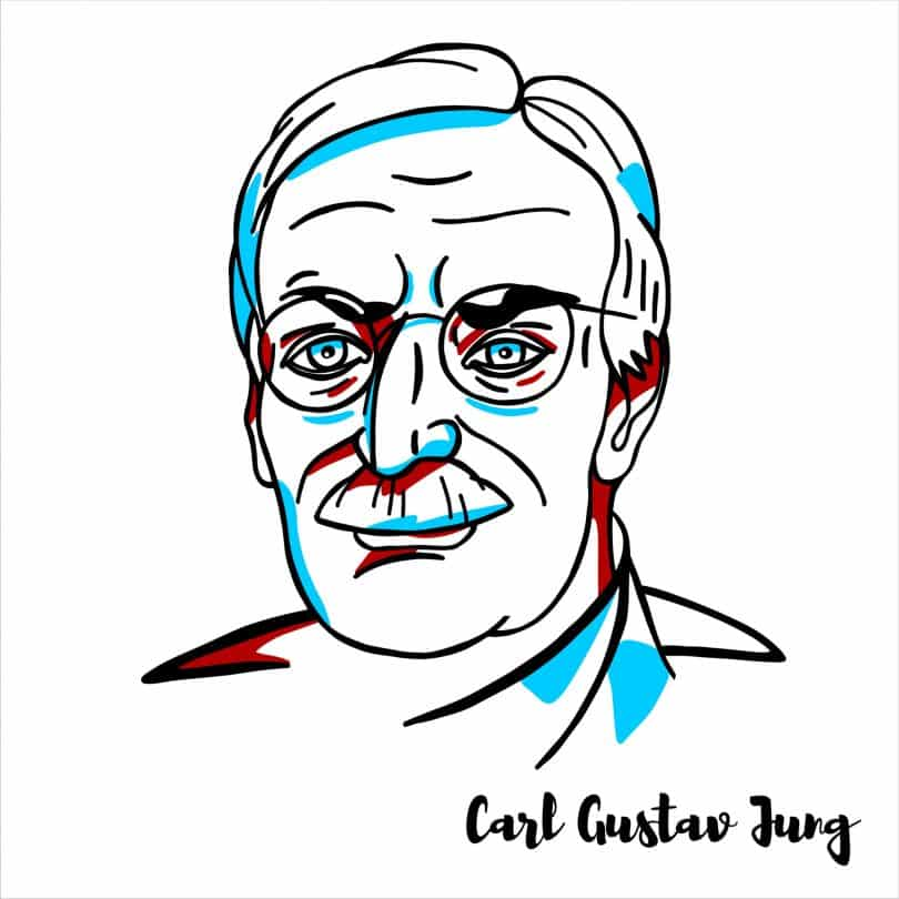 Ilustraçãoo do Carl Gustav Jung