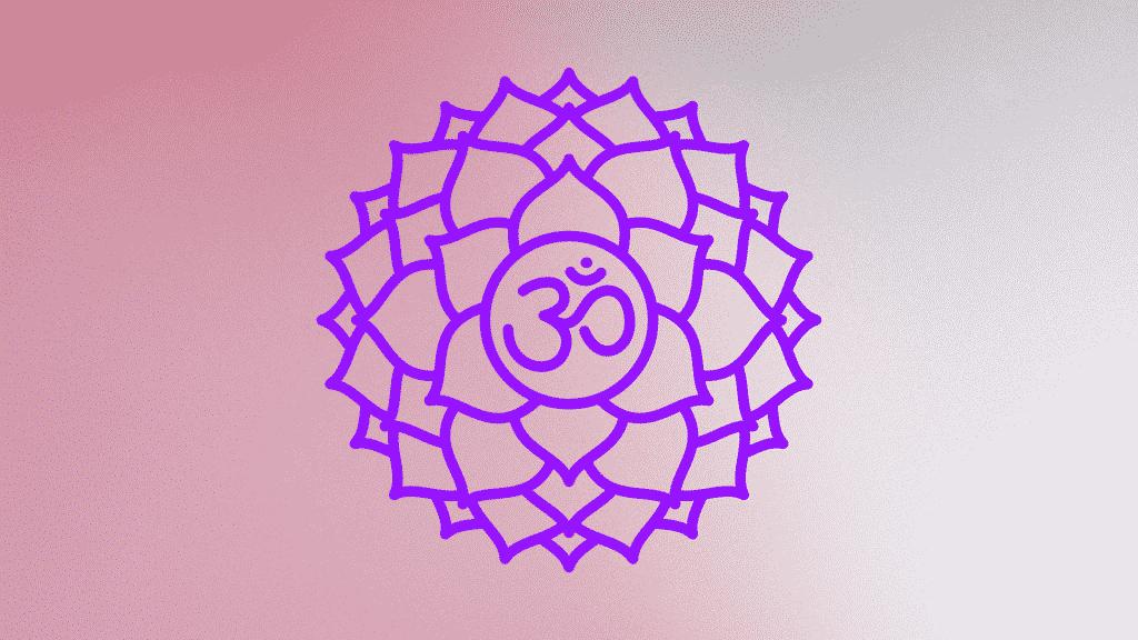 Símbolo do chakra coronário.