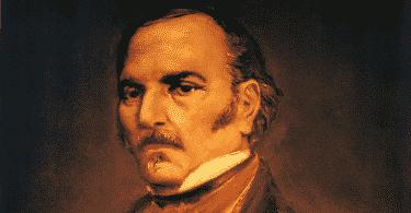 Um portrait/retrato de Allan Kardec.